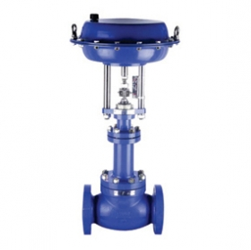 Bellows seal single-seat control valve
