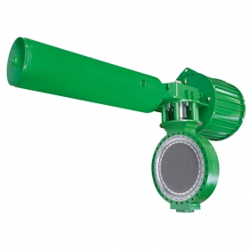 Rapid cut-off butterfly valve