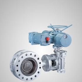 Manual Electric Flange Butterfly Valve