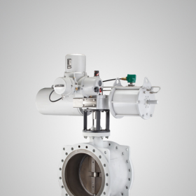 Electro-hydraulic Butterfly Valve