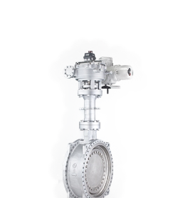 Electric Tri-eccentric Hard Sealed Butterfly Valve